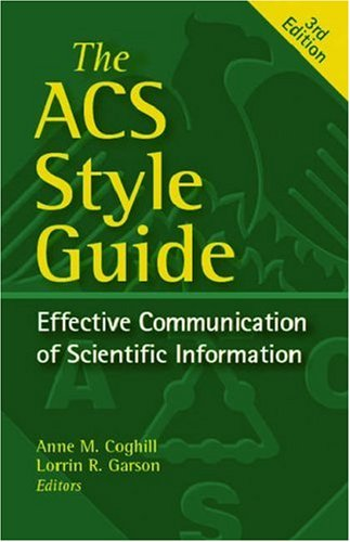 ACS Style Guide Cover