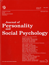 Journal of Personality and Social Psychology